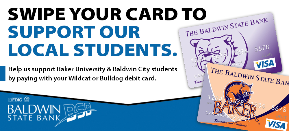 Swipe your card to support our local students!